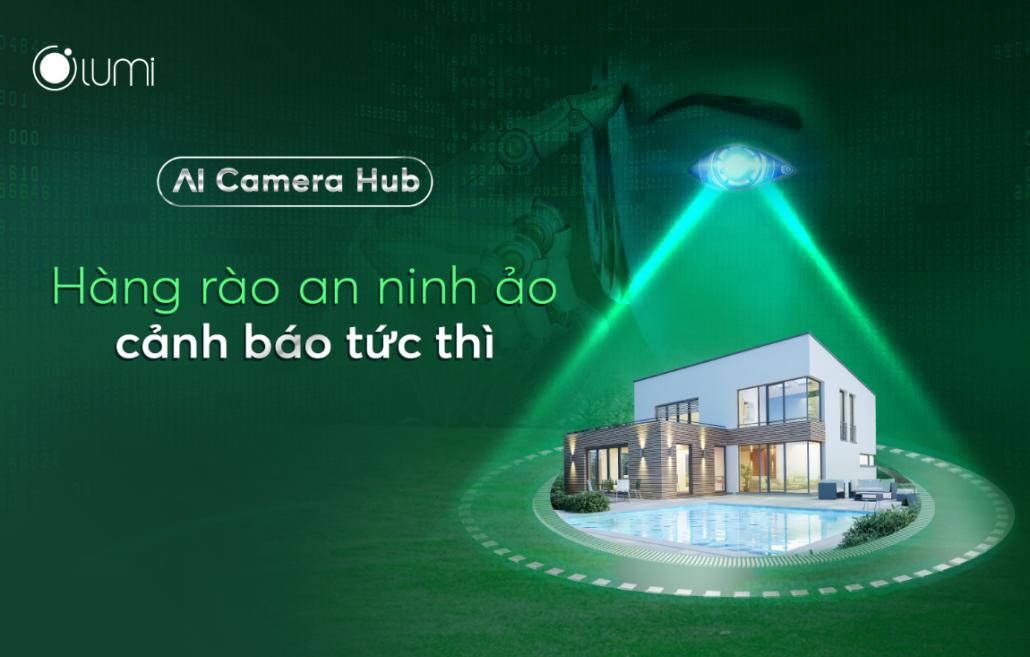 Key visual AI Camera Hub